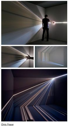 Chris Fraser/light installation