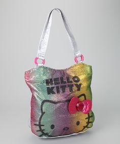 ca91f6b7f3 Hello Kitty Hello Kitty Silver Viva La Glam Sequin Tote