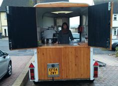 Mobile Espresso Coffee Trailer - Eye-catching up-cycled horse trailer   eBay