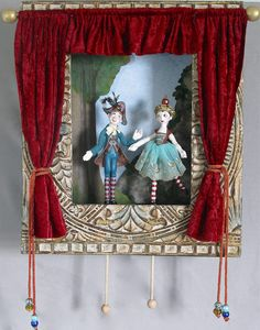 Puppet Theatre by Lucia Friedericy, Dolls Keka❤❤❤