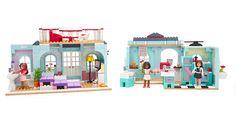 Grace's 2-in-1 Buildable Home Megabloks Set
