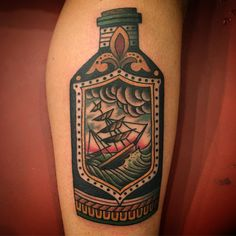 "814 Likes, 10 Comments - Bryan Randolph (@bryanrandolph) on Instagram: ""On Bryan today. #bryanrandolph #spidermurphys #traditionaltattoo #sanrafael #bayarea #shiptattoo…"""