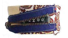 Bracelet, all zipped up.
