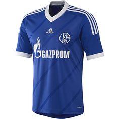 Camisa Schalke 04 I, COBALT/WHITE