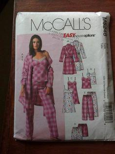 McCalls 5248 - ladies pajamas