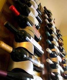 How To: Create Vertical Wine Racks | Apartment Therapy