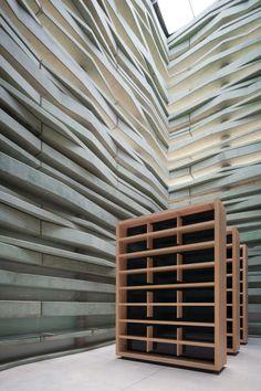 Interior Peres Center for Peace by Studio Fuksas, photography by Yohan Zerdoun Architectural Photography