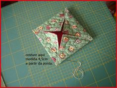 Vide Poche, Do It Yourself Projects, Kitchen Towels, Pin Cushions, Advent Calendar, Sewing Projects, Origami, Lily, Gift Wrapping