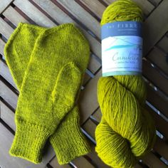 Basic Mitten in The Fibre Co. Cumbria Fingering made by Starlight Knitting Society #yearofmittens