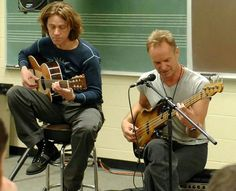 Sting and Dominic