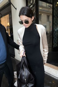 January 22, 2016 - Leaving a Chanel store in Paris - Kendall Jenner