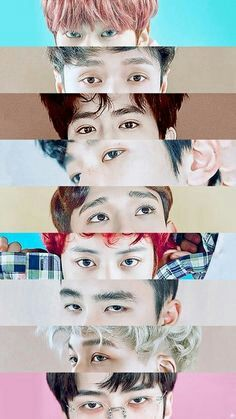 Love their eyes, but ... what posessed Kyungsoo?