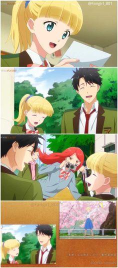 Tada Never Falls in Love Anime Films, Anime Characters, Koi, Otaku Anime, Anime Art, Hot Anime Couples, Anime Crying, Fanart, Never Fall In Love