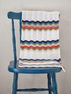 Crochet baby blanket pastels