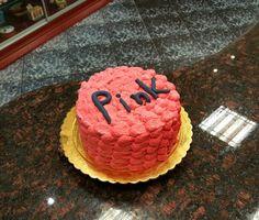 Pink, cake, creamy, fondant, cute,