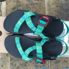 Customized Chacos Size 5 NEVER WORN. Customized chacos Chacos Shoes Sandals