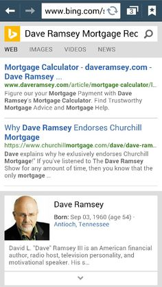 images of dave ramsey mortgage