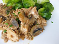 Chicken in Creamy Mustard Marsala Sauce | Can You Stay For Dinner? Has great other recipes too!