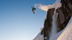 Patagonia Skiing Ambassador Carston Oliver