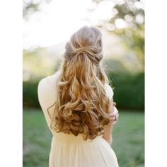 whocoulddowithoutyou: Once Wed photography by... - bookends & daisies ❤ liked on Polyvore featuring hair