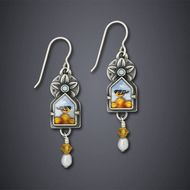 Oriole Sky Earrings - Bijou Graphique