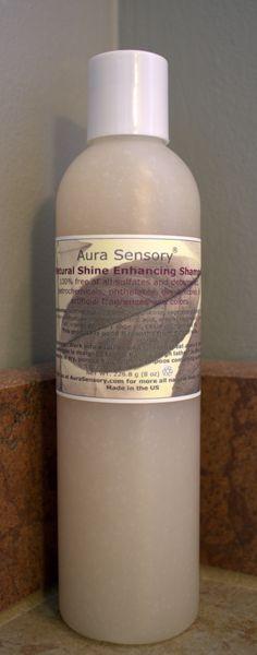 Natural Sulfate Free Shine Enhancing Shampoo by Aura Sensory