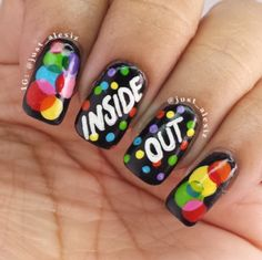 Inside Out nails!
