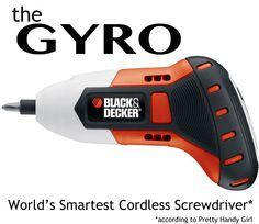 the GYRO, World's Smartest Cordless Screwdriver