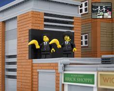 Bricksy: Banksy LEGO