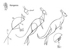 Draw a Kangaroo by Diana-Huang on DeviantArt Bird Drawings, Cartoon Drawings, Animal Drawings, Drawing Animals, Animal Sketches, Art Sketches, Kangaroo Drawing, Kangaroo Illustration, Australian Animals