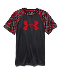 Under Armour Big Boys' UA Big Logo Printed T-Shirt Youth Medium Black  Freshest Fishing Clothing And Gear On The Web!