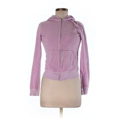 Pre-owned Juicy Couture Zip Up Hoodie Size 8: Light Purple Women's... ($27) ❤ liked on Polyvore featuring tops, hoodies, light purple, juicy couture hoodie, hooded zip up sweatshirt, sweatshirt hoodies, purple hoodie and juicy couture