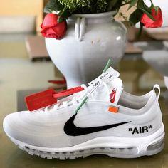A thing of beauty... #offwhite #nike #airmax97 #nicekicks #kicks #sneakerhead #solecollector #sneakers #igsneakercommunity #instakicks #fashion #kicksoftheday #hypebeast #nike #sneakercommunity #style #kotd #streetwear #sneakerfreak #instagood #photooftheday #swag #sneakerheadmoscow #mexicoknows #sneakerosmx #virgilabloh #hypebeast