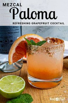 5 reviews · 5 minutes · Serves 1 · The classic Paloma gets a sweet and smokey twist with the addition of honey and mezcal.