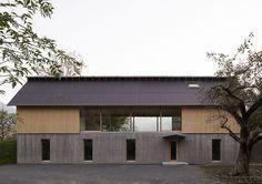Huis in het Zwitserse kanton of Graubünden naar ontwerp van Bearth&Deplazes.
