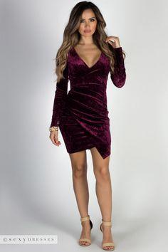 ce85ab7e2b0 52 Best Velvet Dresses images in 2018   Hot dress, Sexy dresses ...