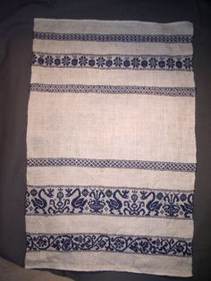 Perugia towels are a specialized style of textile that reflect the high standards of medieval and Renaissance table linens.