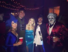Last nights Halloween party was epic - thanks @floyd687! Decor ambiance and company... all amazing  #halloweencostume #halloween #halloweenparty #partytime #costumeparty #elsa #jedi #obiwankenobi #sega #robinhood #gameofthrones #halloweentime