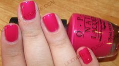 OPI - That's Berry Daring by lextard, via Flickr. omfg I love this color