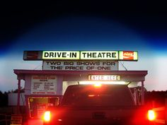 drive-in theatre under the stars Drive Inn Movies, Drive In Movie Theater, Baby Boomer, Big Show, Summer Bucket Lists, Good Ole, Under The Stars, Old Movies, Summer Fun