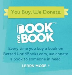 Better World Books will not only sell you millions of titles for less than $6 including free shipping, but they also offset their carbon impac, donate book-for-book to third world countries to match your purchases, pay for you to ship them books if you choose to donate, and they run the whole operation in a pretty green facility.