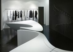 Neil Barrett Shop in Shop by Zaha Hadid