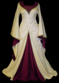 Possible SCA wedding dress idea....maybe in the my colors or future persona husband colors...not sure yet.