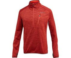 "FEATURES • Exaggerated collar height for warmth • Elastic bound collar, cuffs, thumbholes and hem • Zip-secure chest pocket • Athletic fit • Fabric: 100% Polyester tech fleece • 25"" Center back"