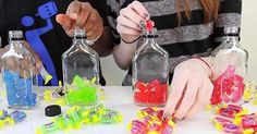 She Mixes 12 Jolly Ranchers With ONLY Vodka. Now See What Happened After 24 Hours. WTF?