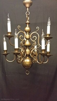 Antiques Atlas - Antique Flemish Chandelier