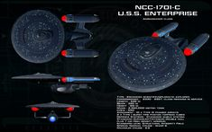 Ambassador class ortho - USS Enterprise - C by unusualsuspex.deviantart.com on @DeviantArt