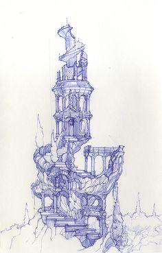 Vasiliy Kourkoff Jr.`s Sketch Blog