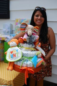 Michelle I have diapers! I think you should attempt a diaper cake :)