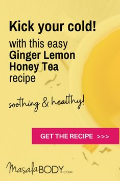 Check out my ground ginger tea recipe for cold and cough, sore throat, and easier digestion. Best Tea For Colds, Ginger Tea For Cold, Ginger Lemon Honey Tea, Ground Ginger Tea Recipe, Honey Tea Recipe, Low Sugar Recipes, Tea Recipes, Paleo Recipes, Cooking With Ginger